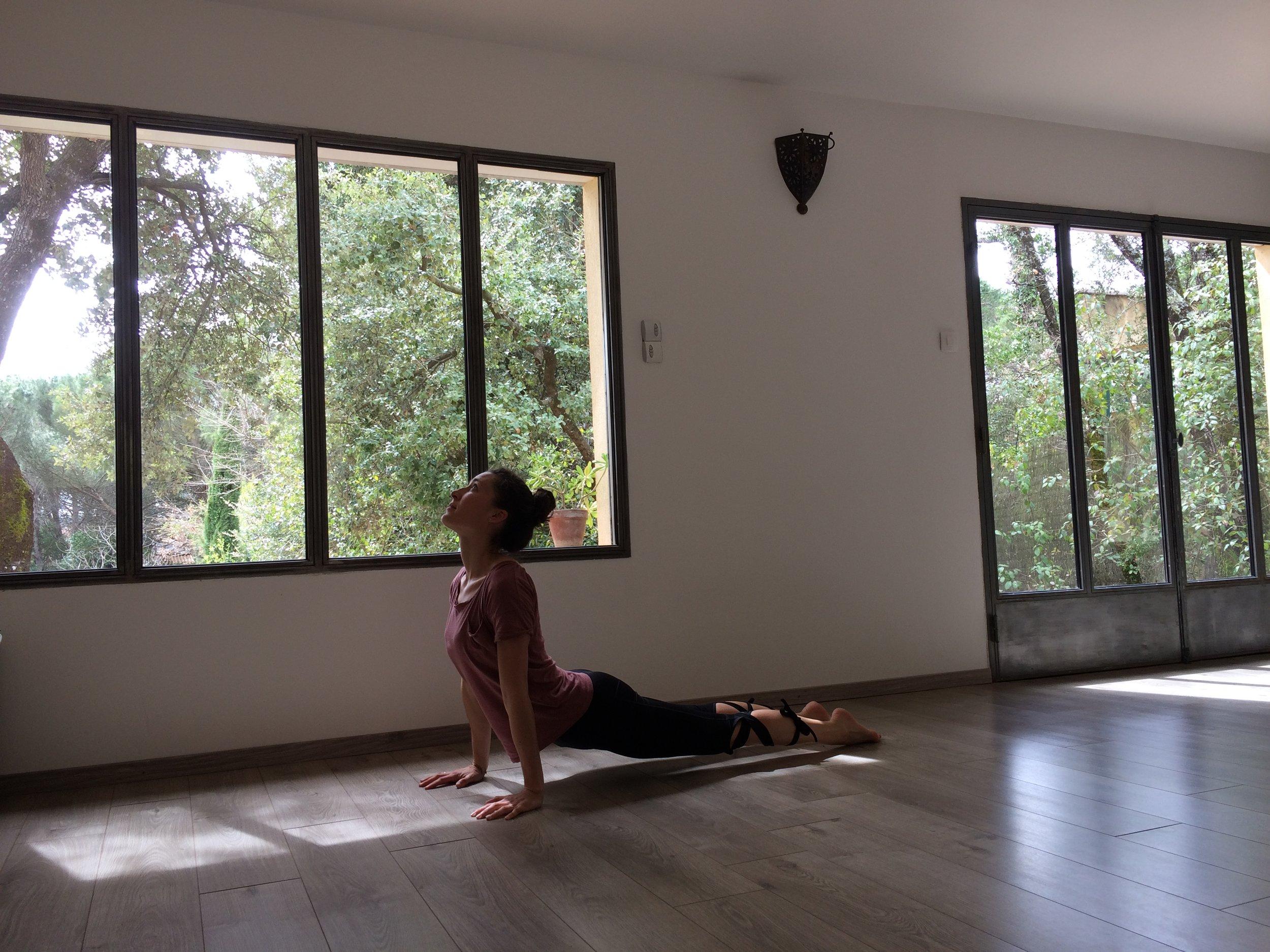 Anne-Sophie Delon  Professeur de yoga et de Pilates à Marseille