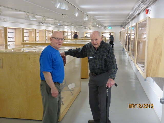 With Don Gates on a Men's group outging to Camp Borden.jpg