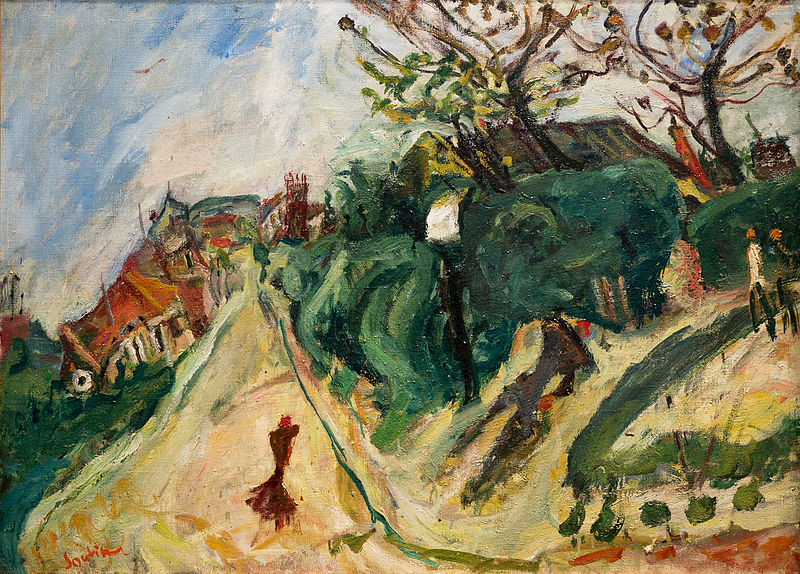 Painting by Soutine, circa 1918-1919