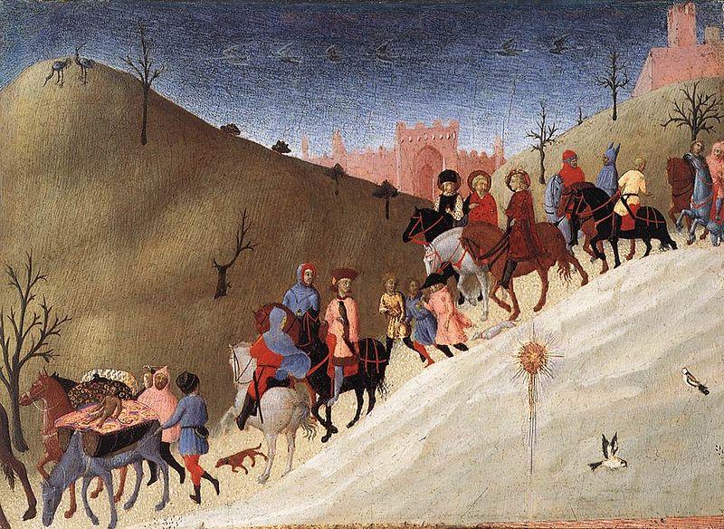 Sassetta: The Journey of the Magi, circa 1435