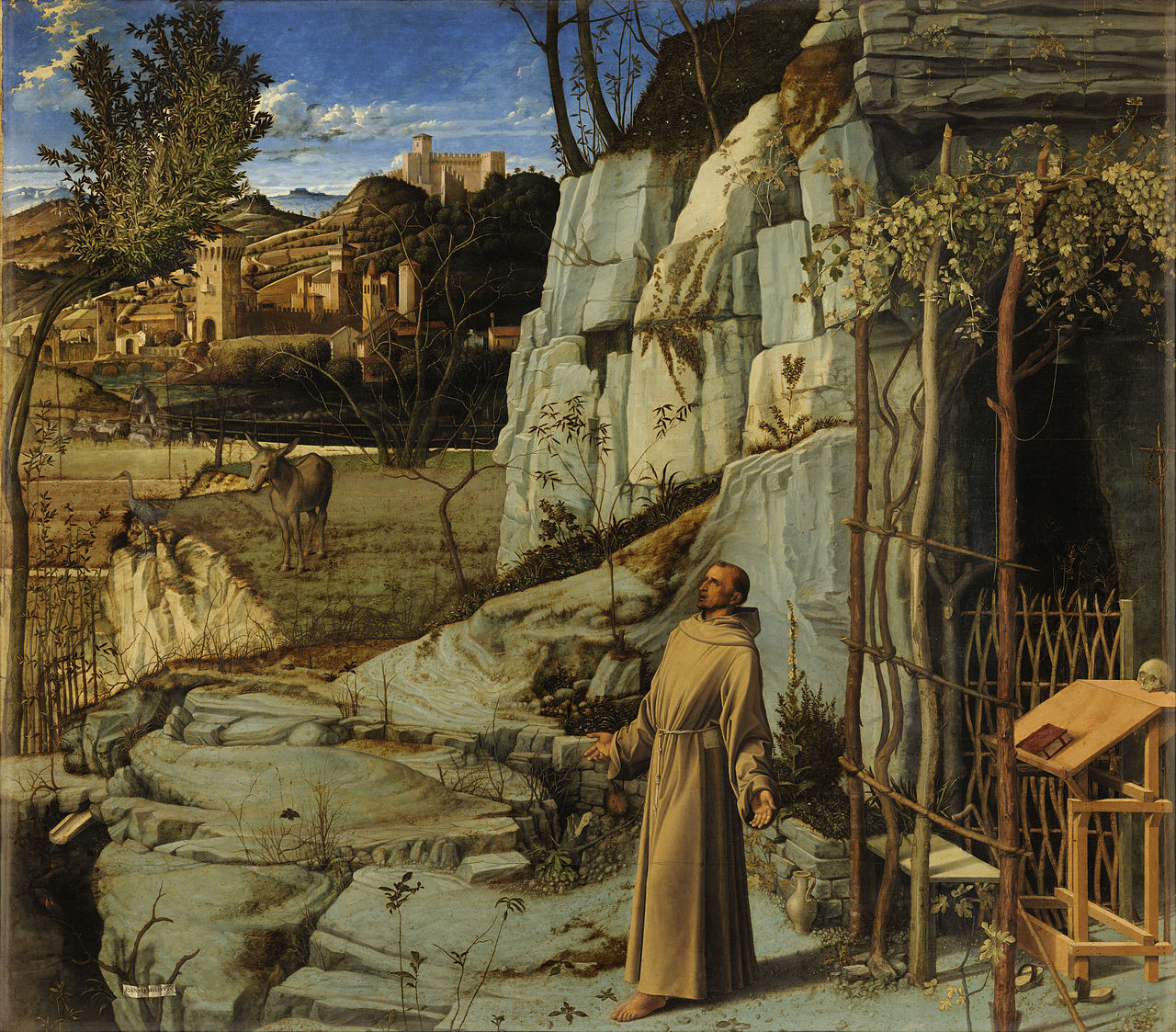 Giovanni Bellini, St. Francis in the Desert