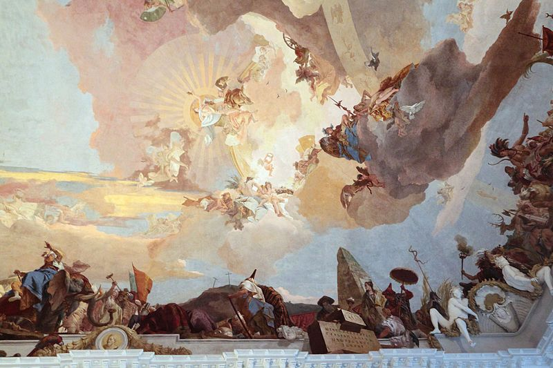 G.B. Tiepolo, ceiling fresco at Würzburg Residence by    MyriamThyes  , circa 2013