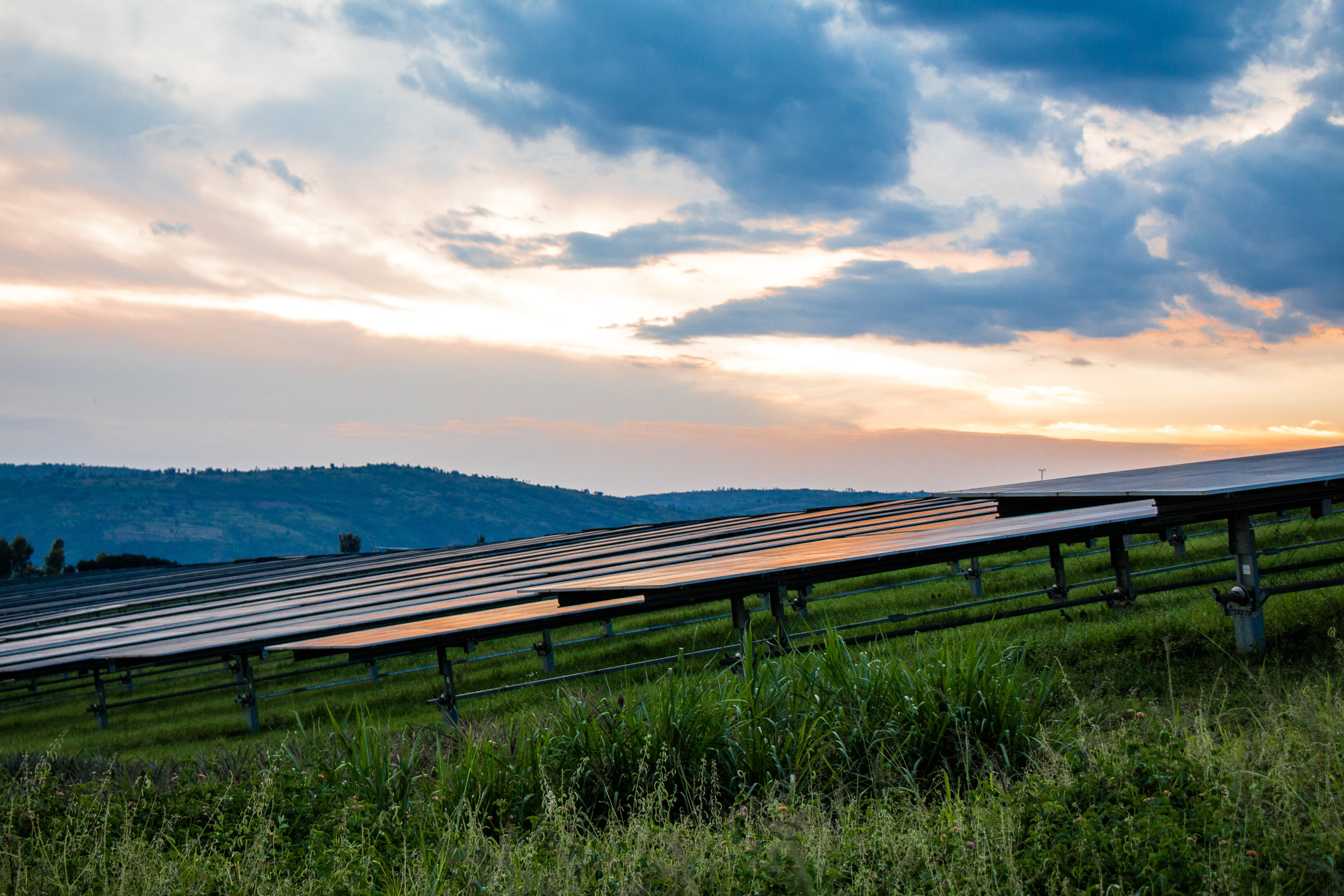Rwanda hosts East Africa's largest commercial solar field, next to Agahozo Shalom Youth Village.