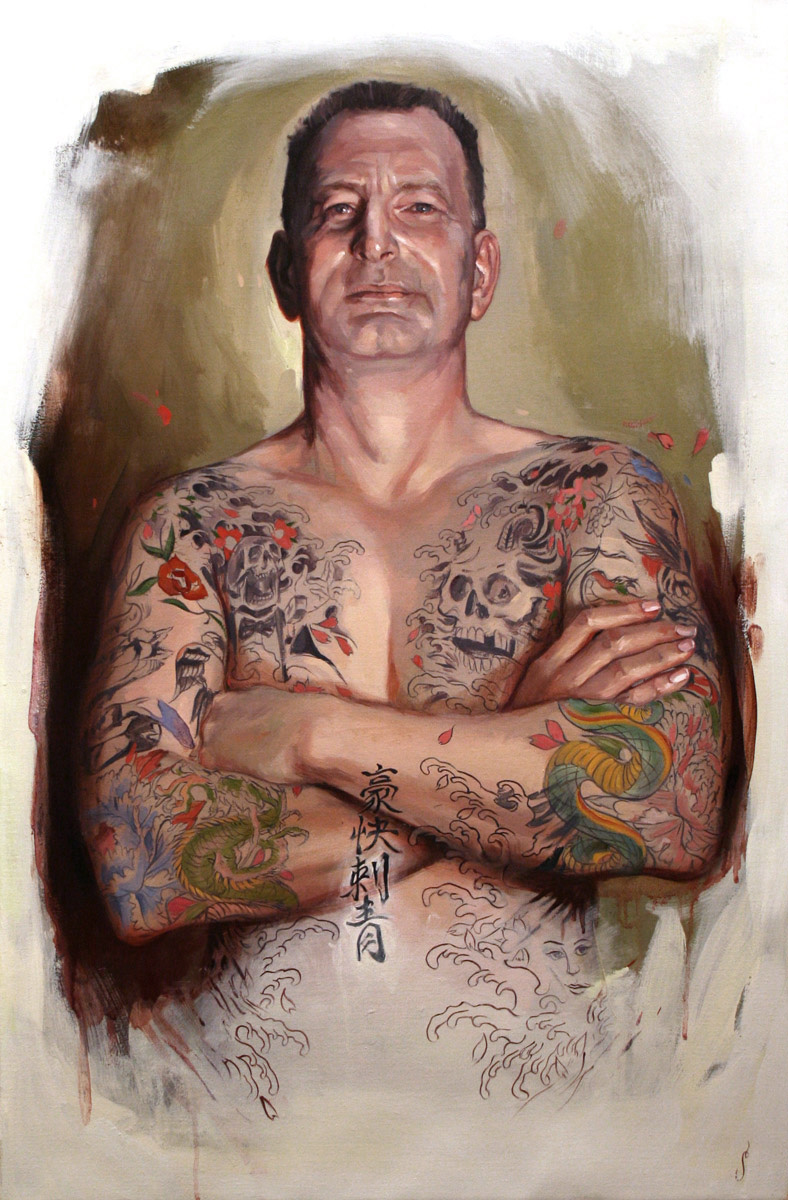 "'Portrait of the Artist, Trevor McStay', oil on canvas, 30"" x 20"", 2007, Collection of Trevor and Deb McStay"