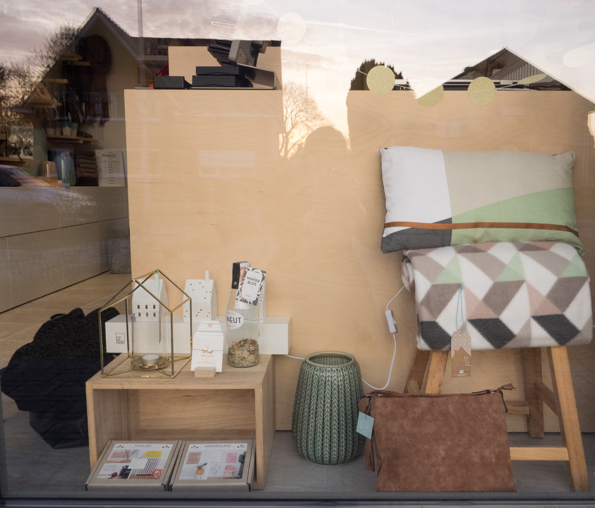 The lovely window display.
