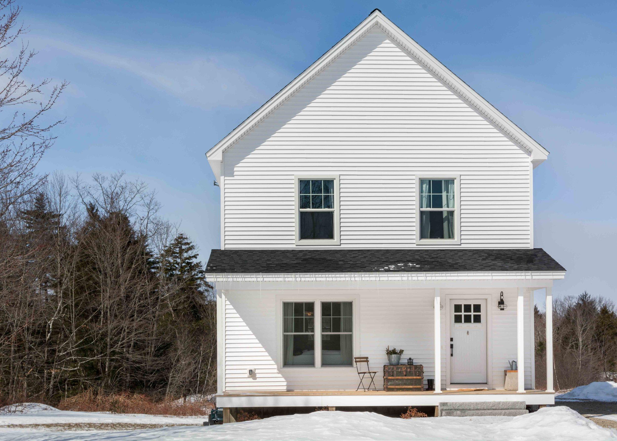 Great Falls Farmhouse, Gorham, Maine