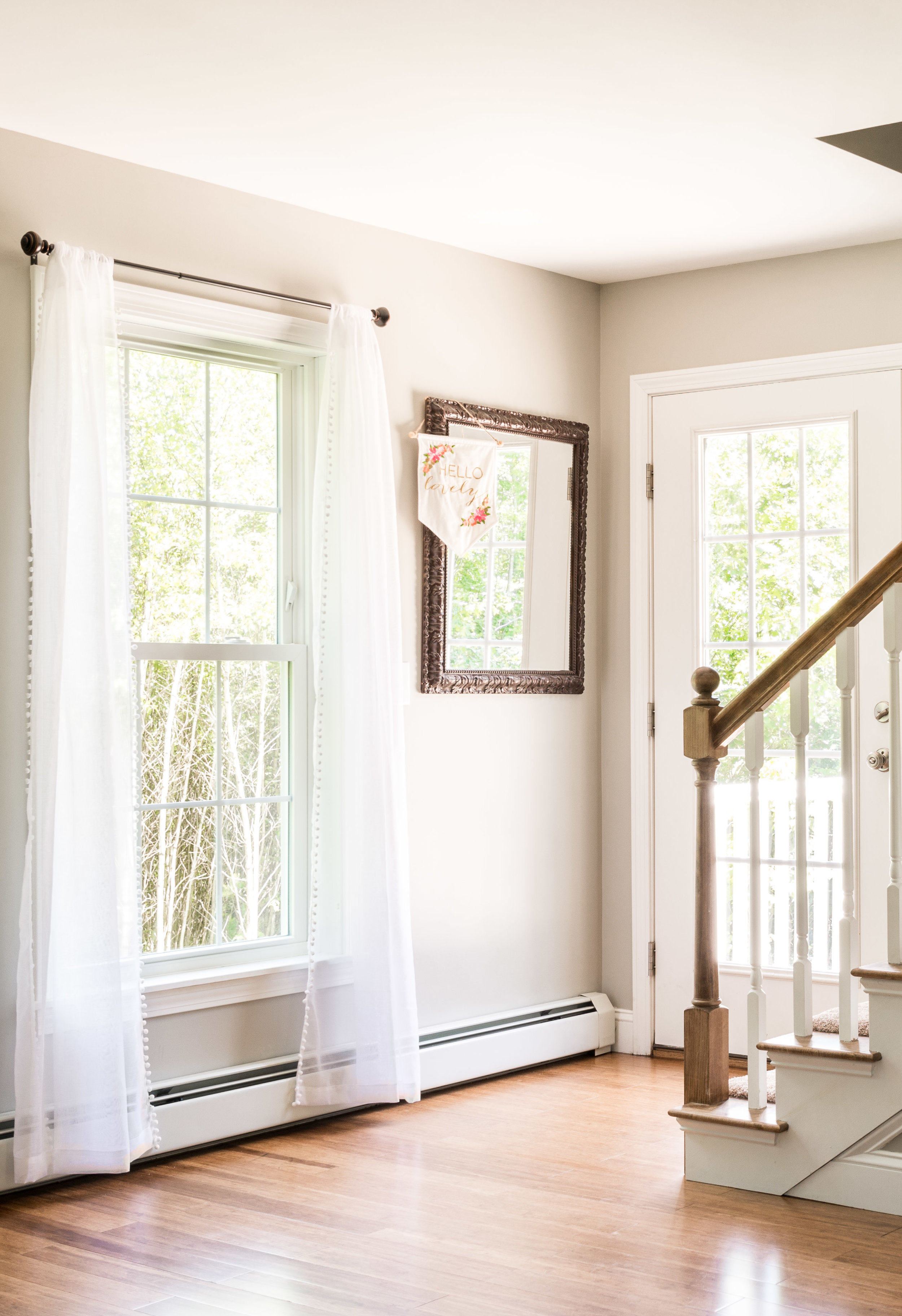 Autumn Lane Starter Home Colonial, Raymond Maine, Stairway