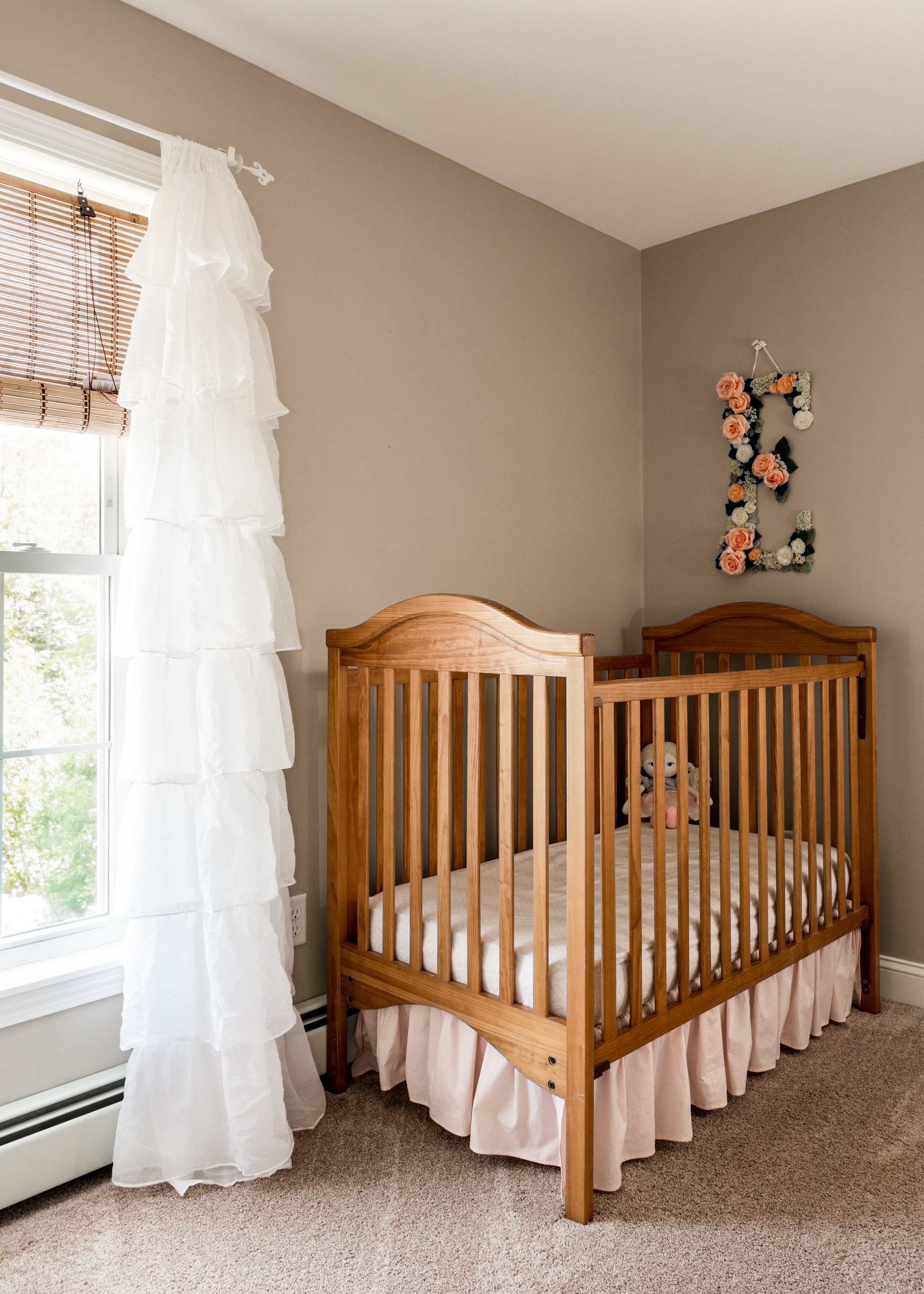 Sackcloth  from Sherwin Williams was used in the nursery and the master bedroom.