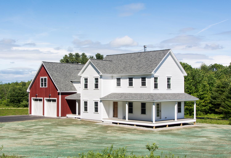 Pinewood Farmhouse, Gorham, Maine