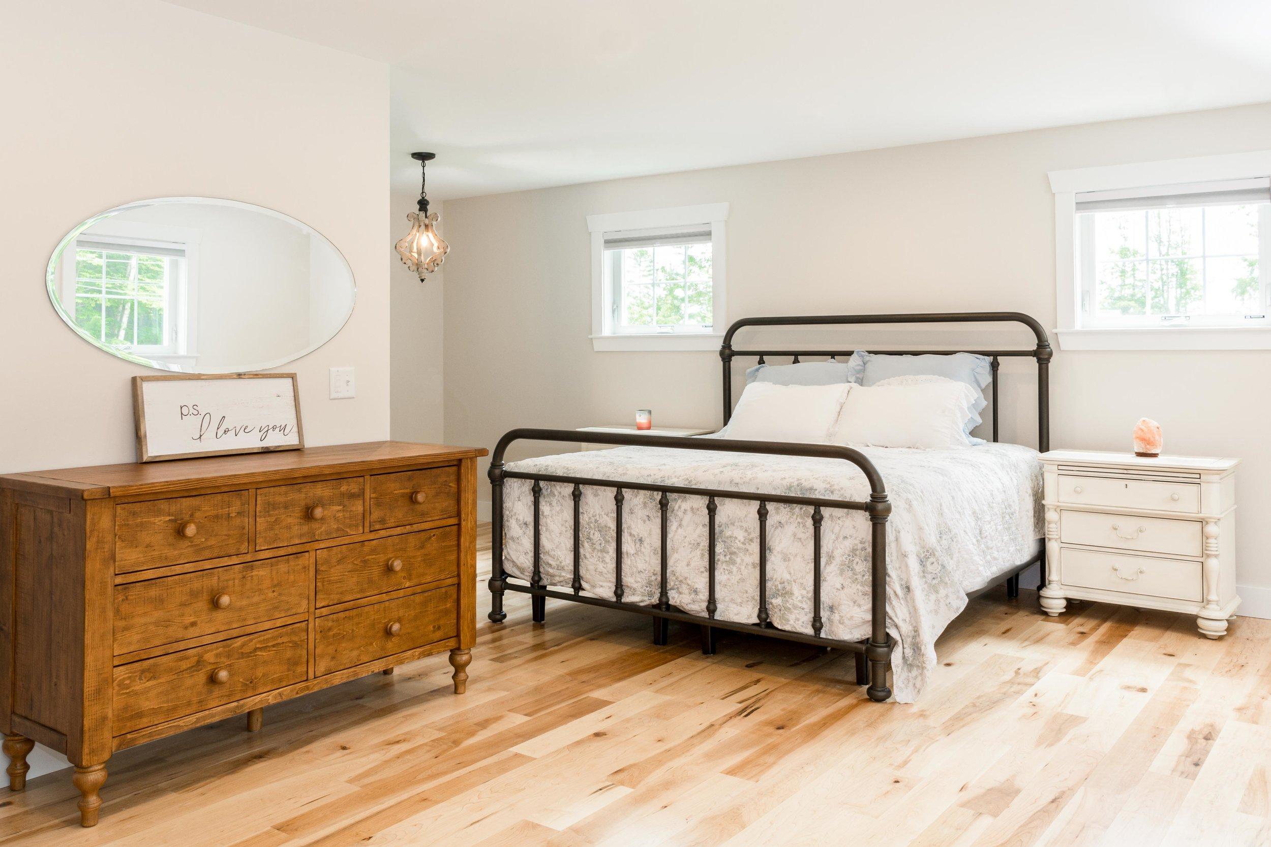 Granite Ridge Farmhouse, Windham, Maine, Master Bedroom
