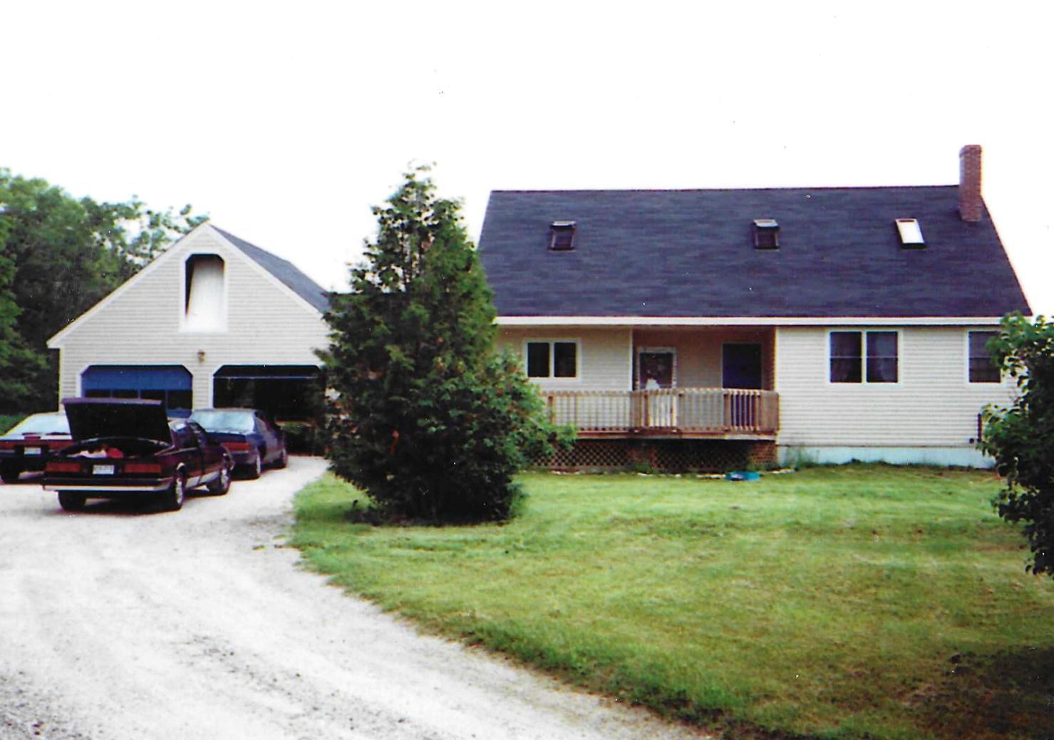 The Mannings first home. Built in Raymond, Maine in 1987.