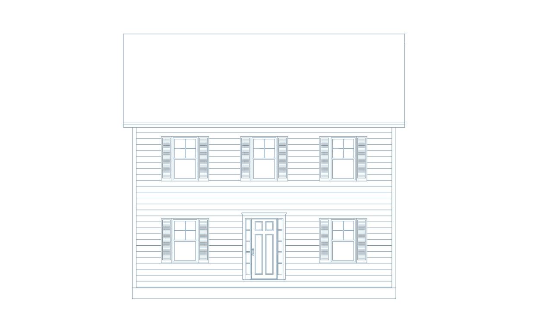 Affordable Custom Home Design, Maine, Ellie Colonial