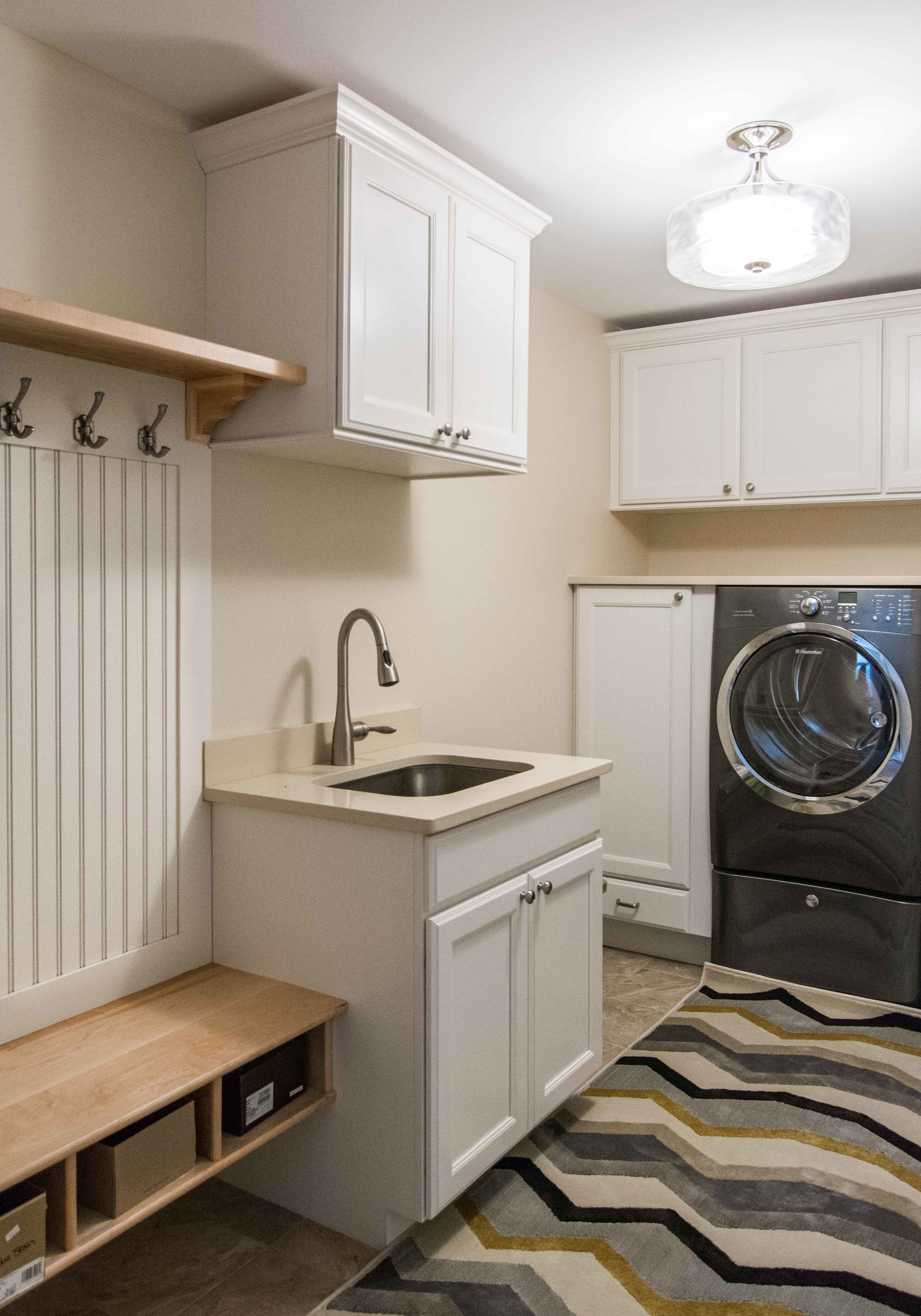 Stroudwater Cape, Portland, Maine, Laundry Room