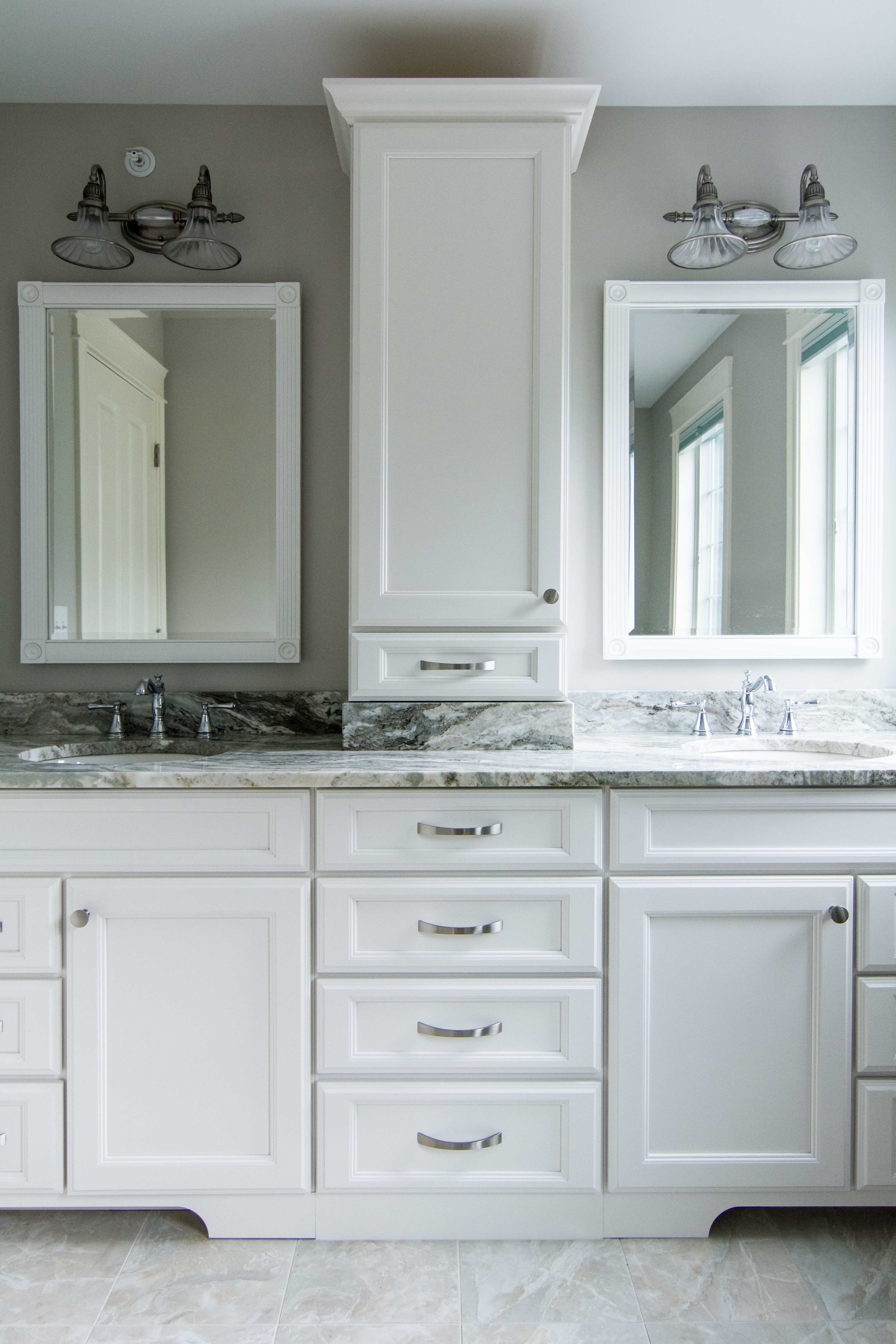 Stroudwater Cape, Portland, Maine, Guest Bathroom