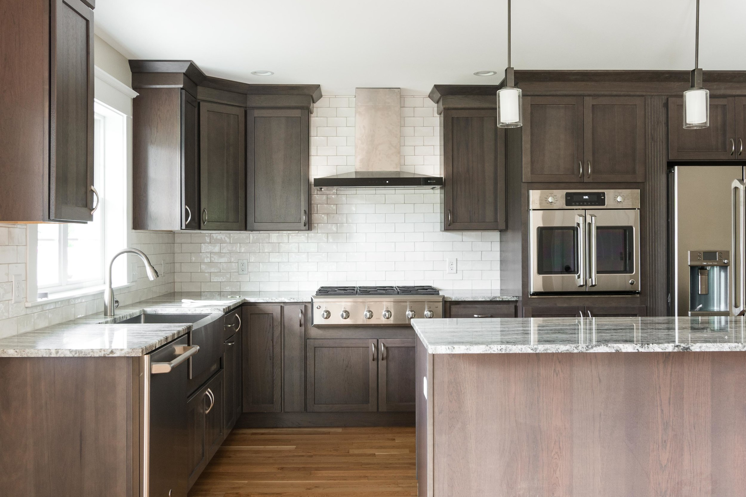 Moravian Cape, Windham, Maine, Kitchen Detail