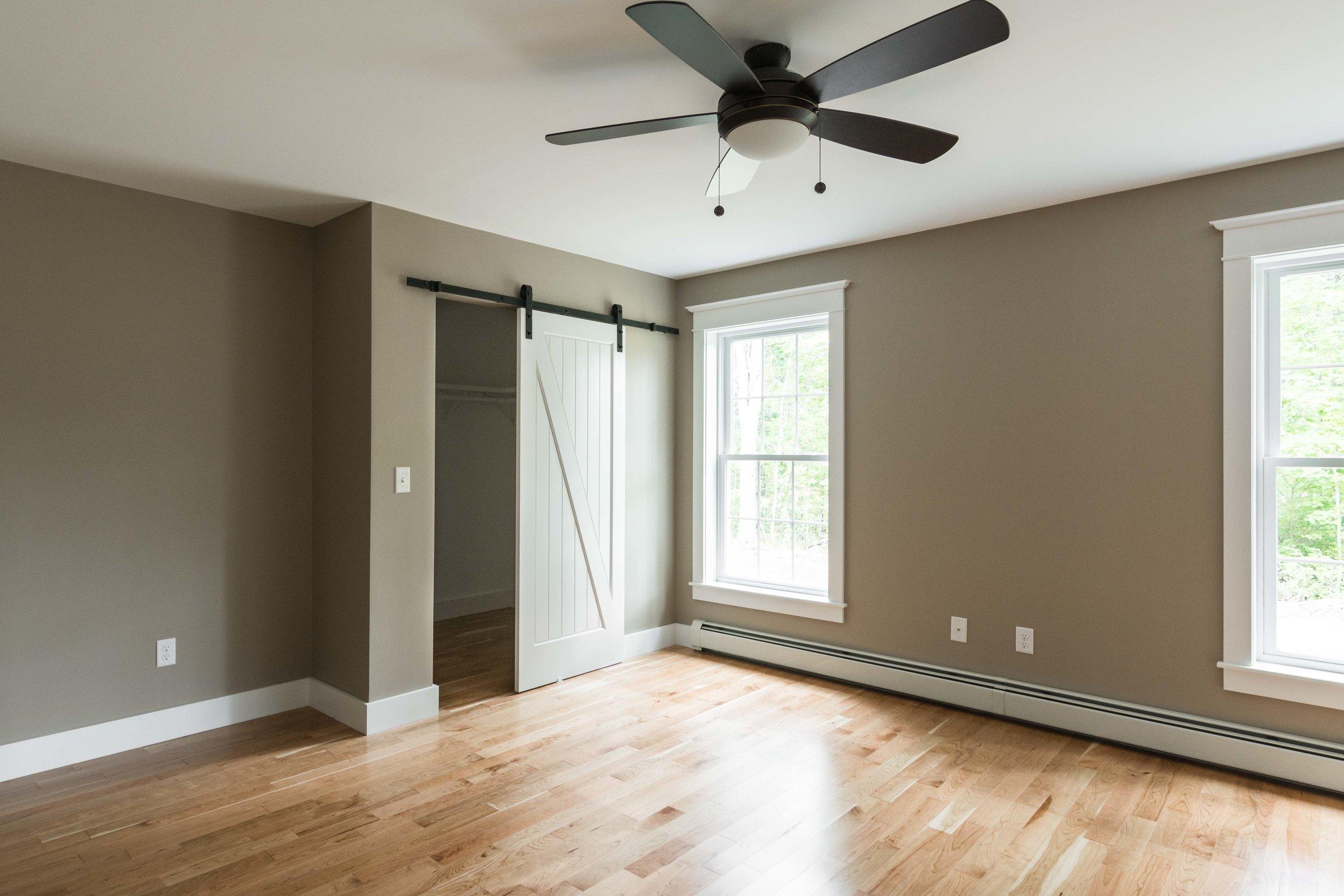 Moravian Cape, Windham, Maine, Master Bedroom