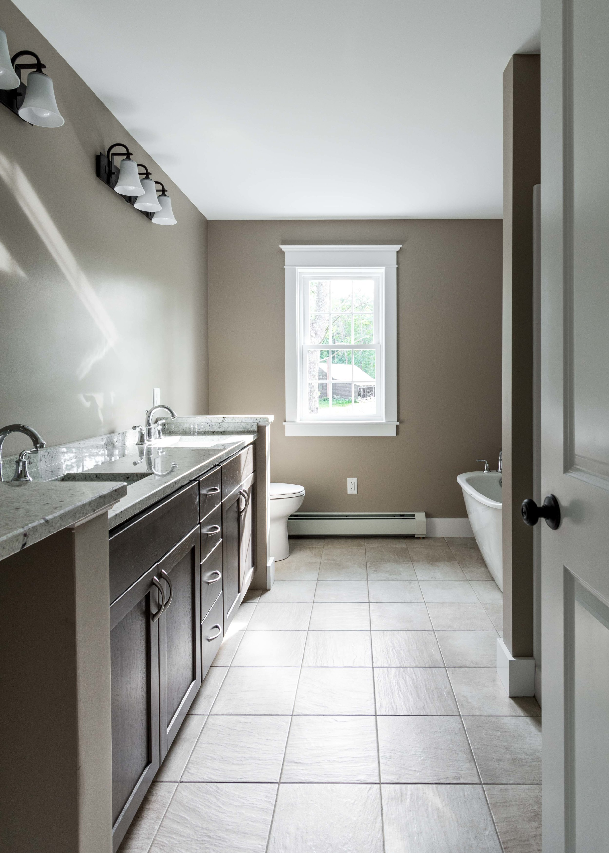 Moravian Cape, Windham, Maine, Master Bathroom