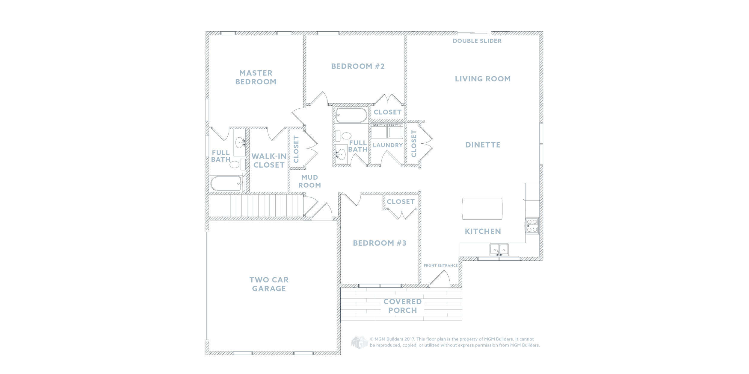 MGM Builders, Maine, The Sophie Floor Plan