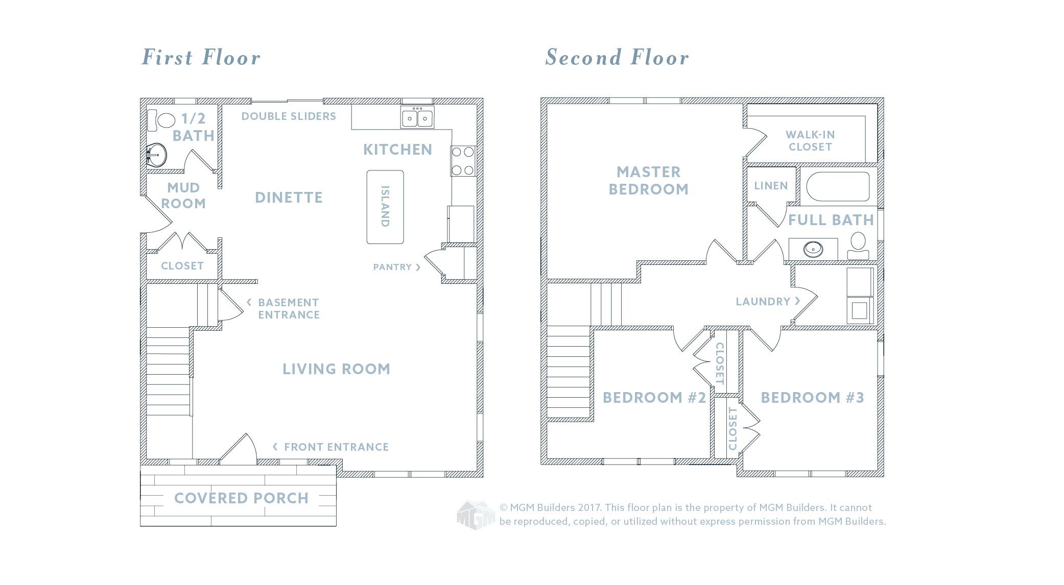 MGM Builders Maine Evelyn Floor Plan
