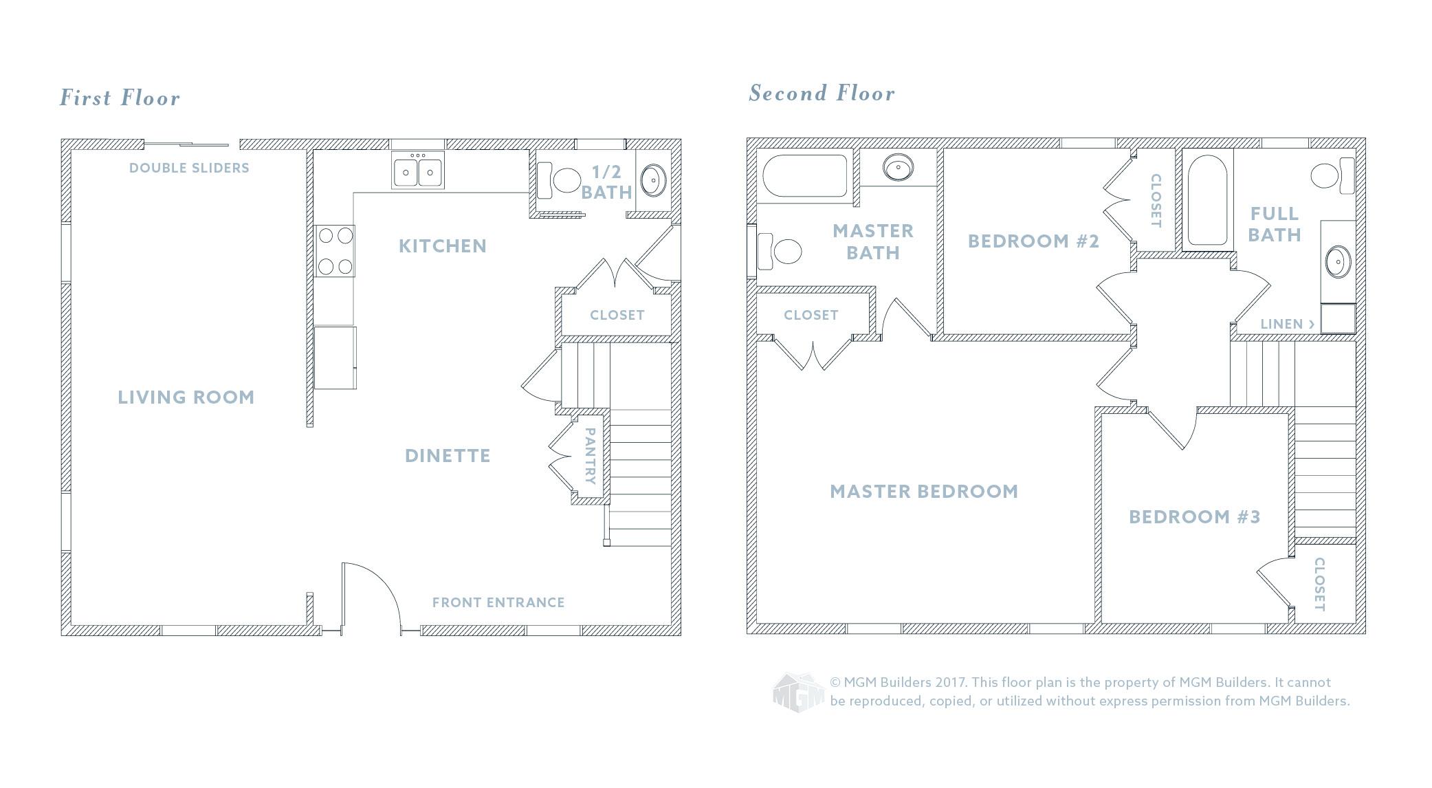 MGM Builders, Maine, Logan Floor Plan