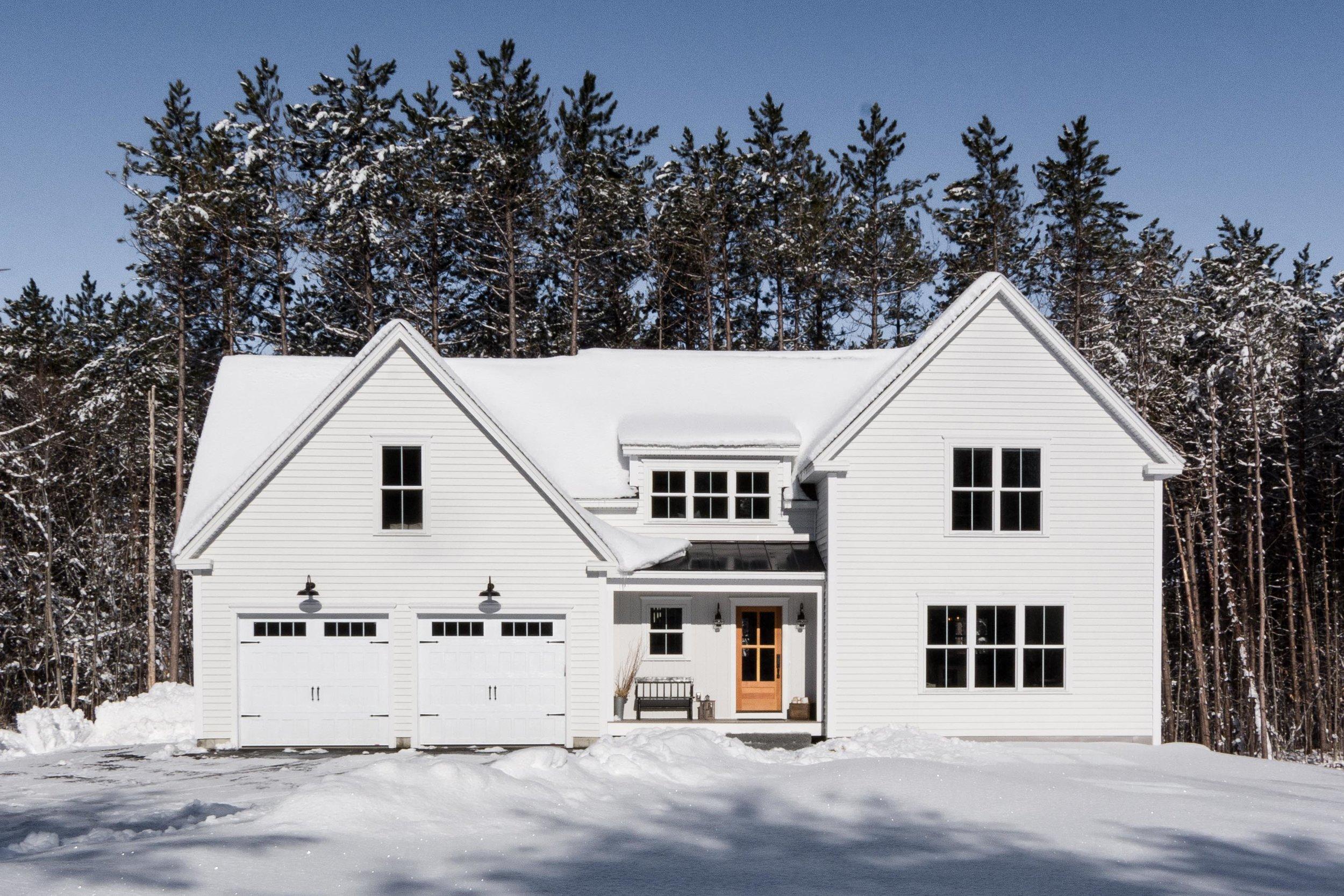 Pleasant River Farmhouse, Windham, Maine, Exterior