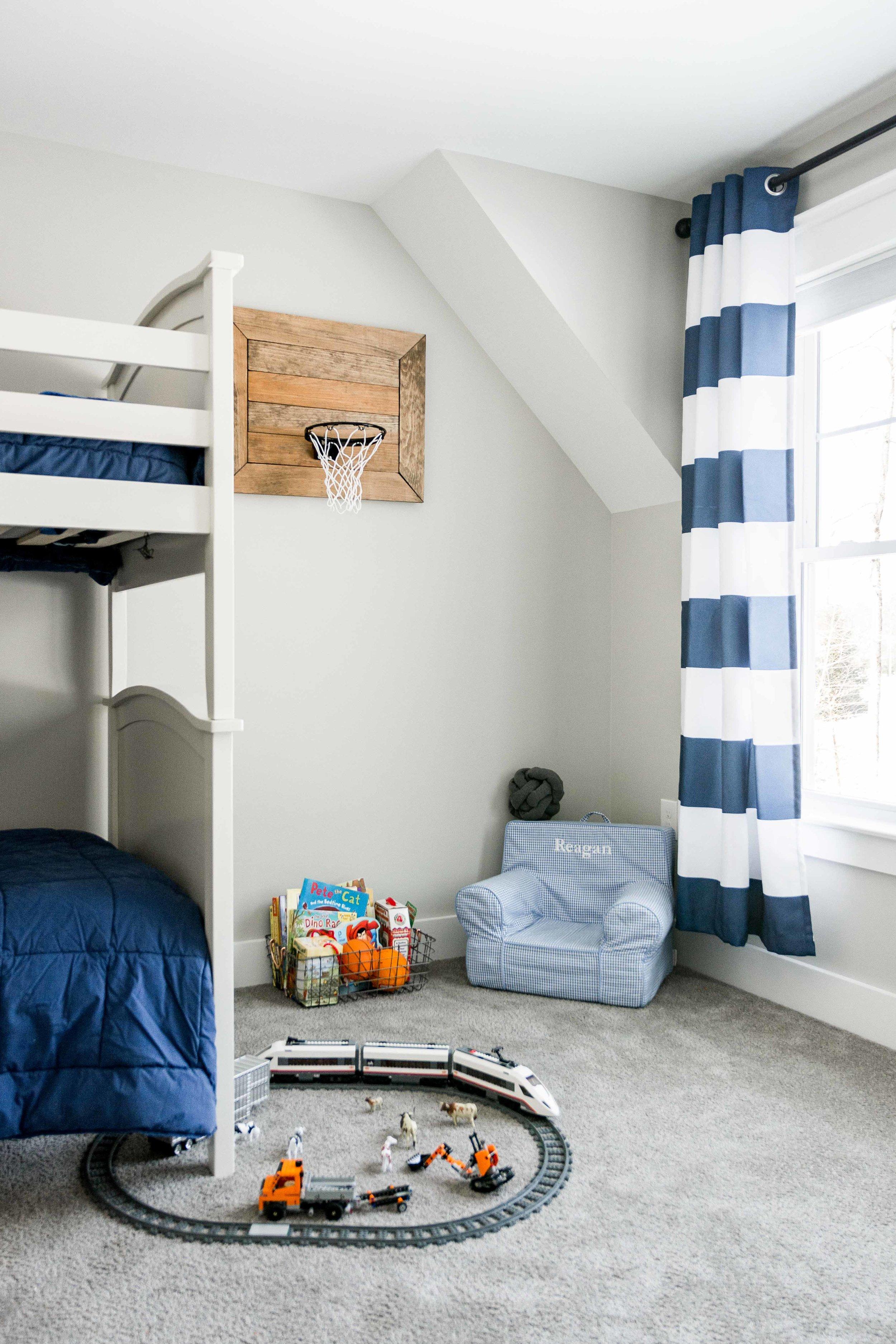 Birchwood Farmhouse, Gorham, Maine, Boys Bedroom