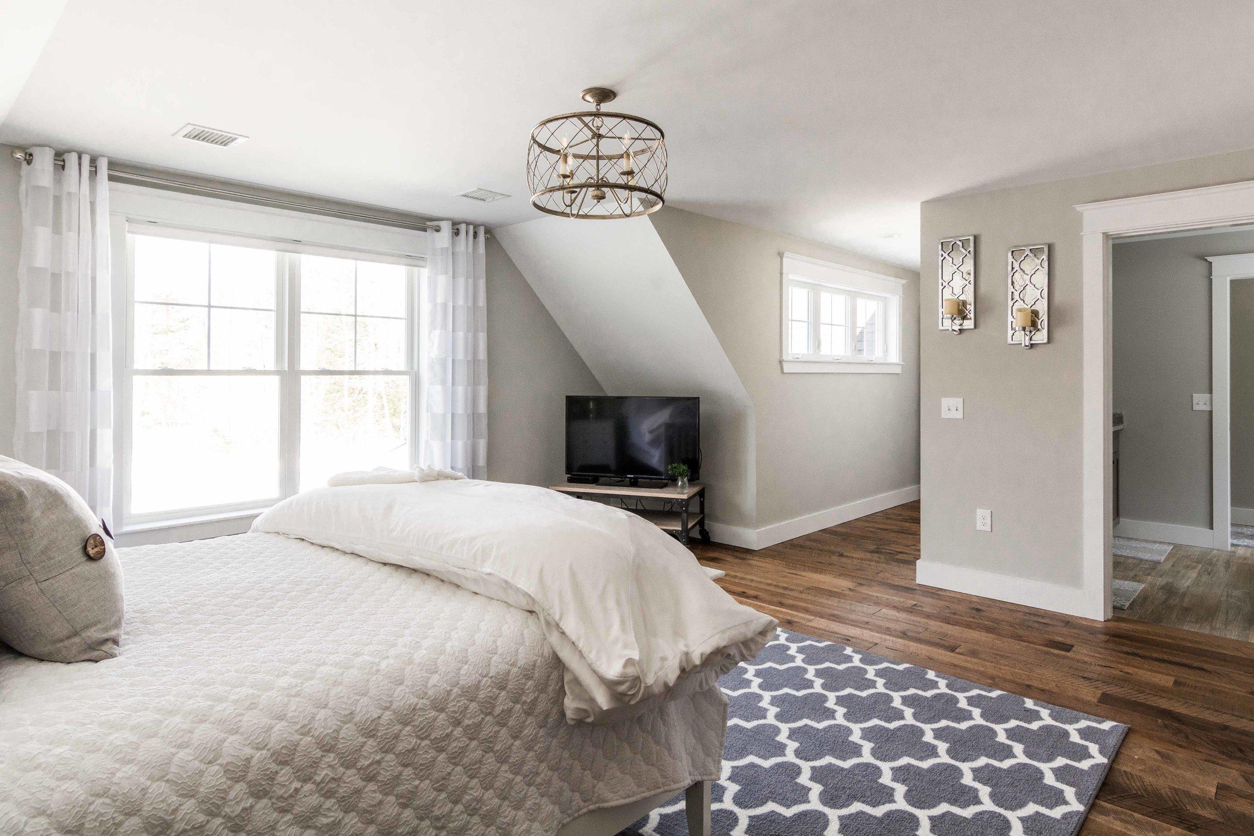 Birchwood Farmhouse, Gorham, Maine, Master Suite