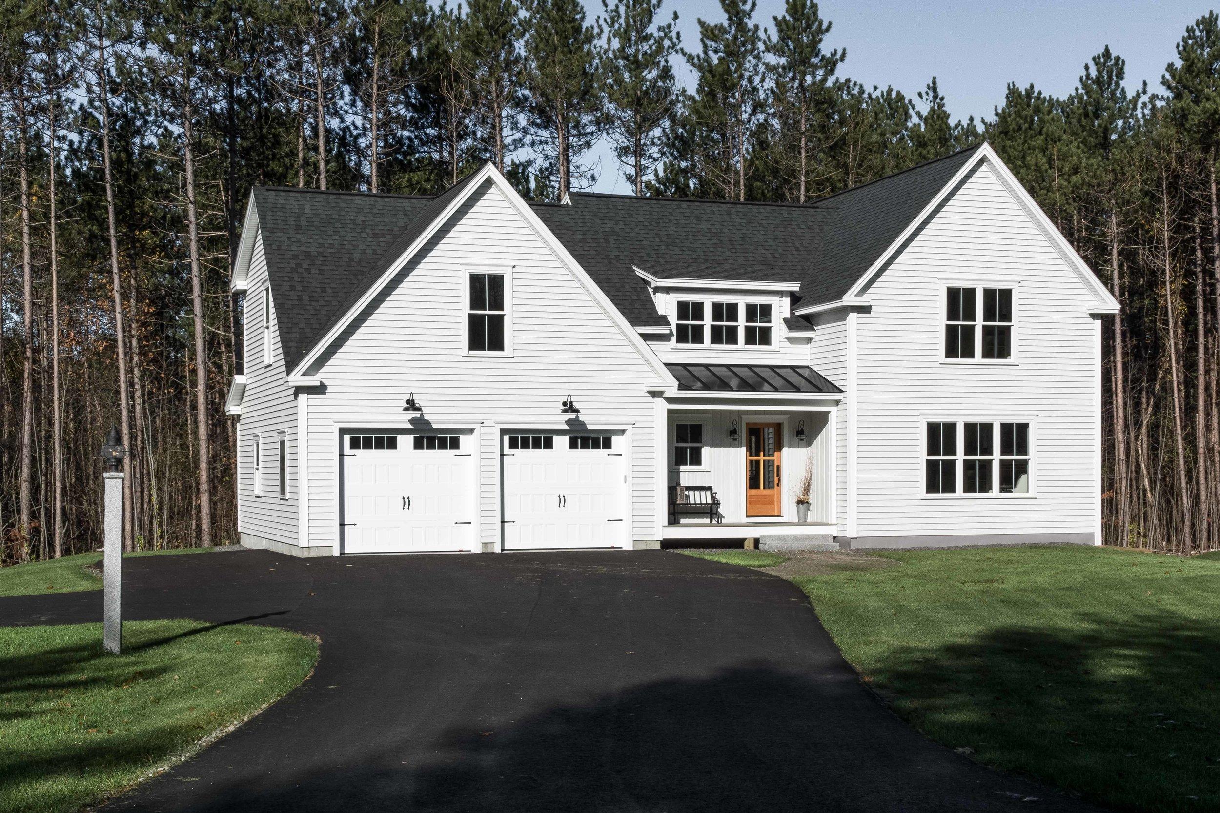 Pleasant River Farmhouse, Windham, Maine, Blog, Exterior in Sun