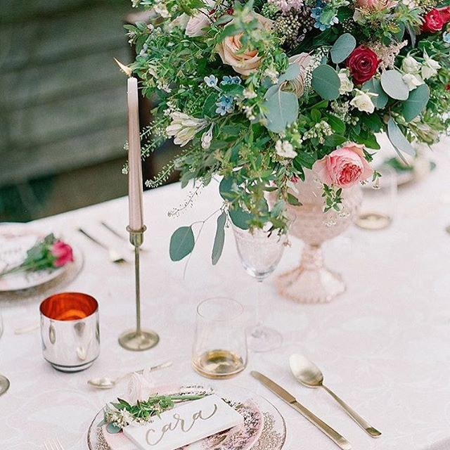 W E D D I N G ✨ Landing fresh in the inbox is this lovely styled shoot featured on @thewhitewren - link in bio. Seeing all the spring colours again makes me so dreamy.