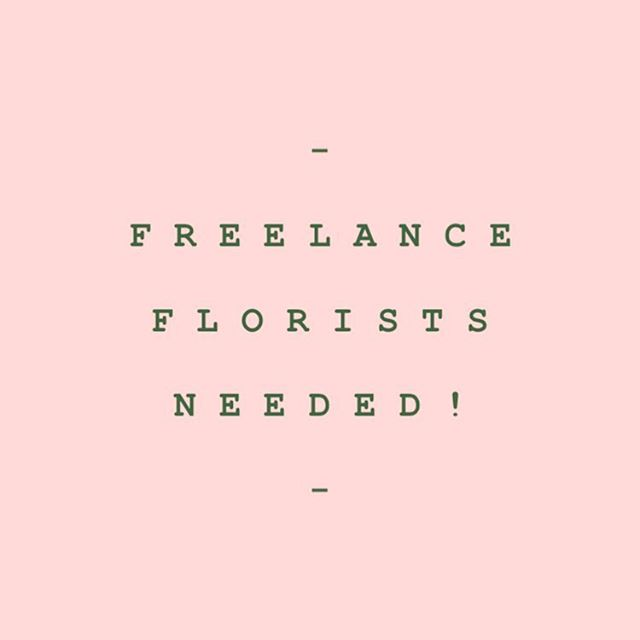 F R E E L A N C E R S 🌿 I need you! I've got some big weddings and exciting projects happening later this year and in need of some extra pairs or hands. Holla and shout if you want to help a girl out! Send me a DM or email if you're based in London, Oxfordshire, Berkshire or Buckinghamshire!!