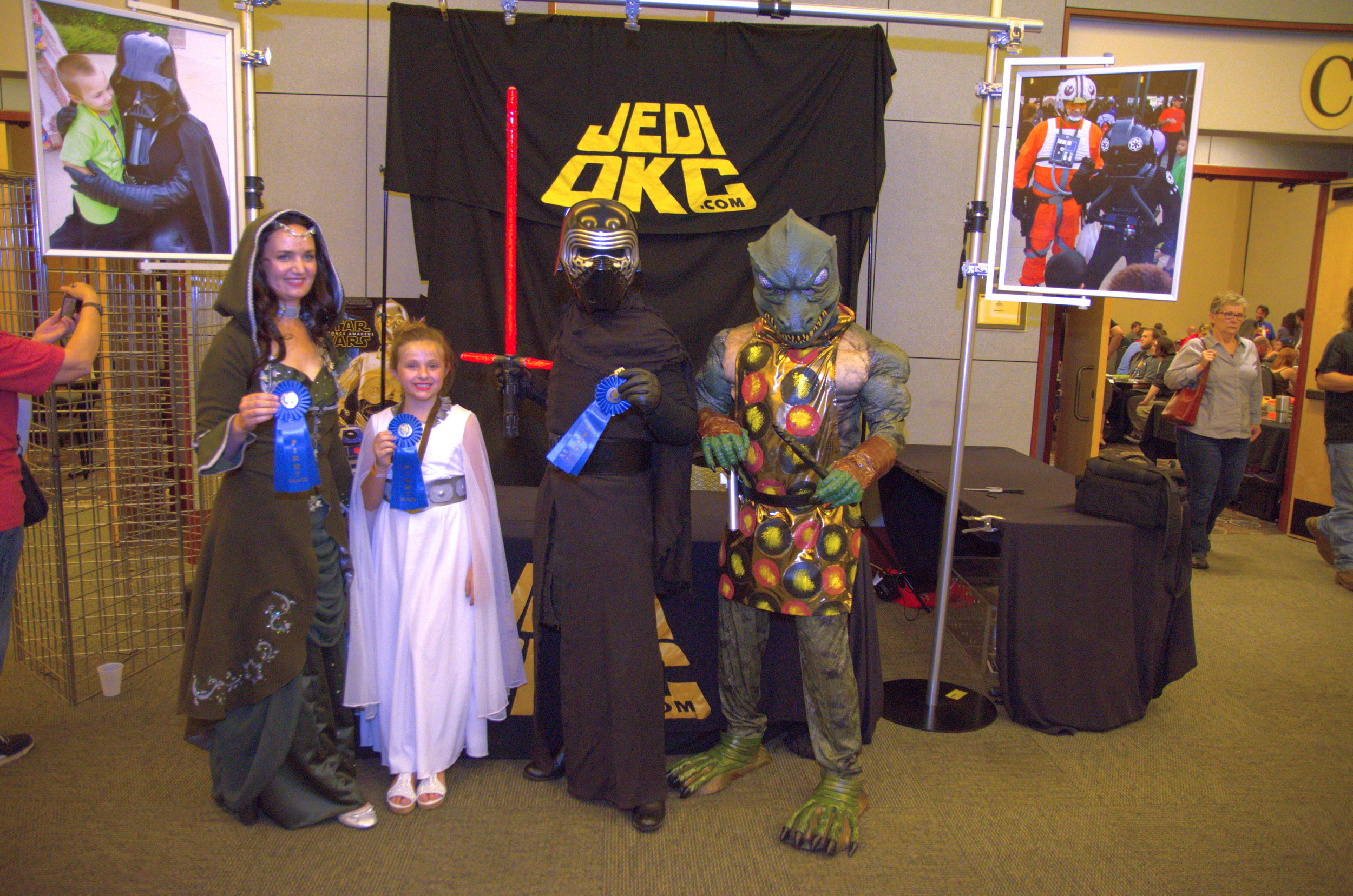 Pictures provided by Soonercon from last year's convention.