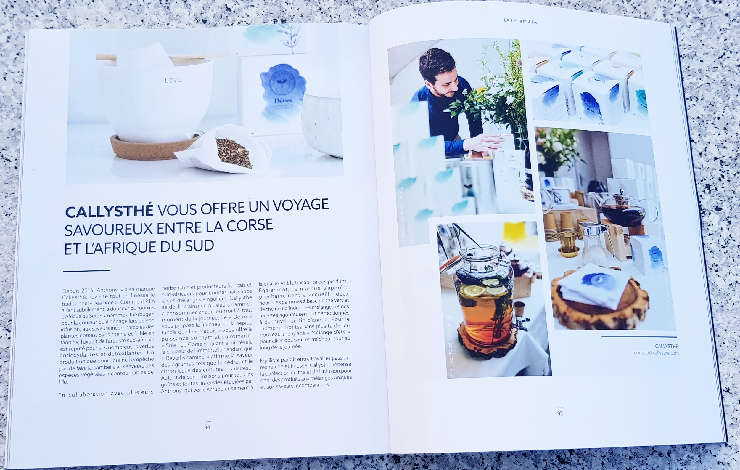 LUXE by Corse Matin