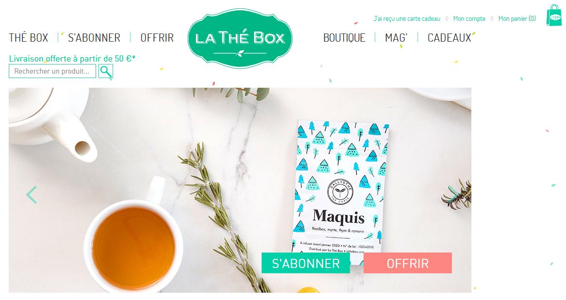 LA THÉ BOX : La petite française