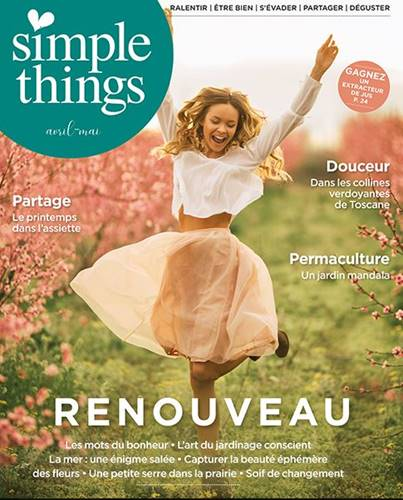 Simple things Couverture