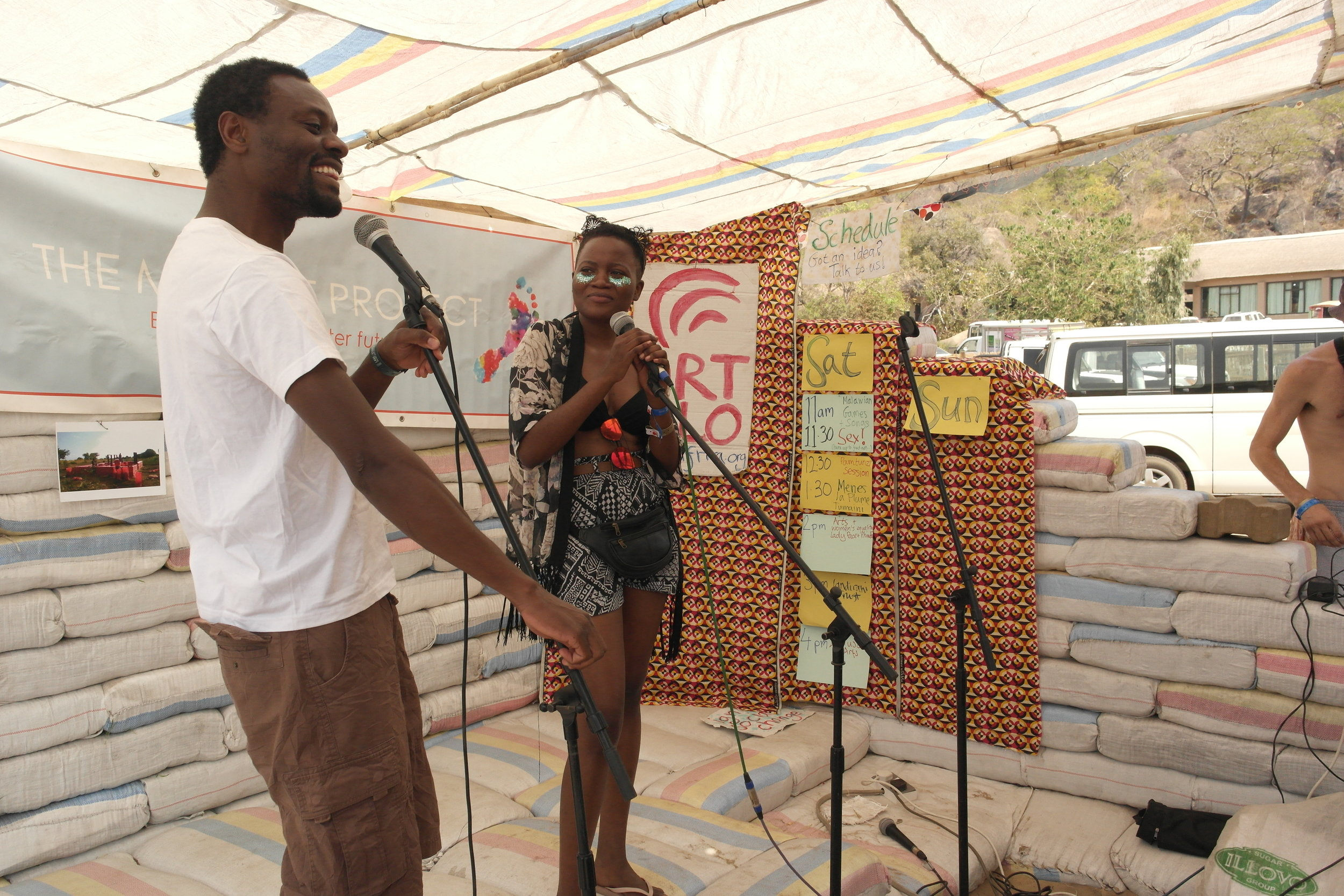Tumaini Festival founder Menes La Plume talked about the inspiration behind creating the world's first major festival to take place in a refugee camp.