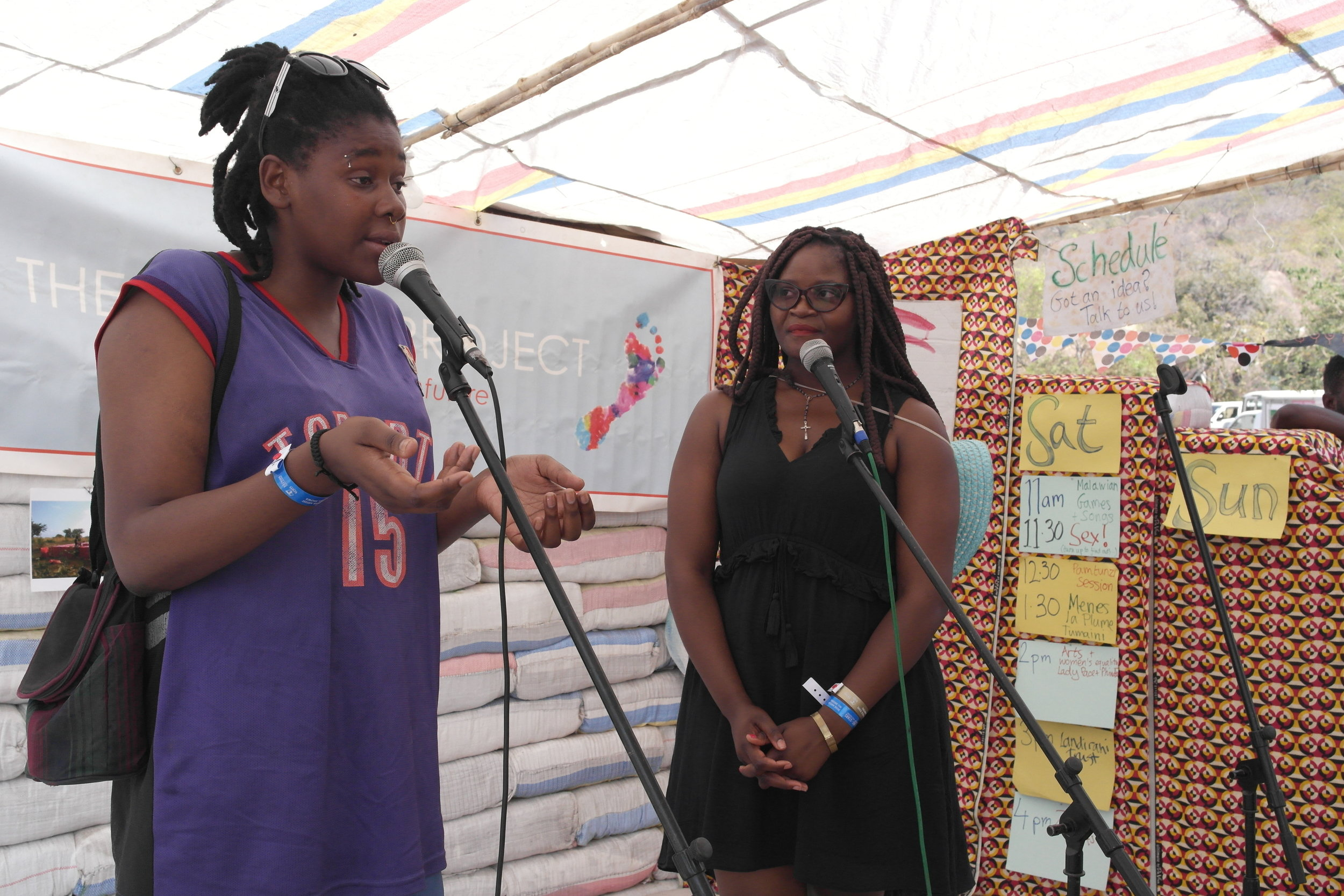 Malawian rapper and signer Lady Pace talked with us about women's empowerment.