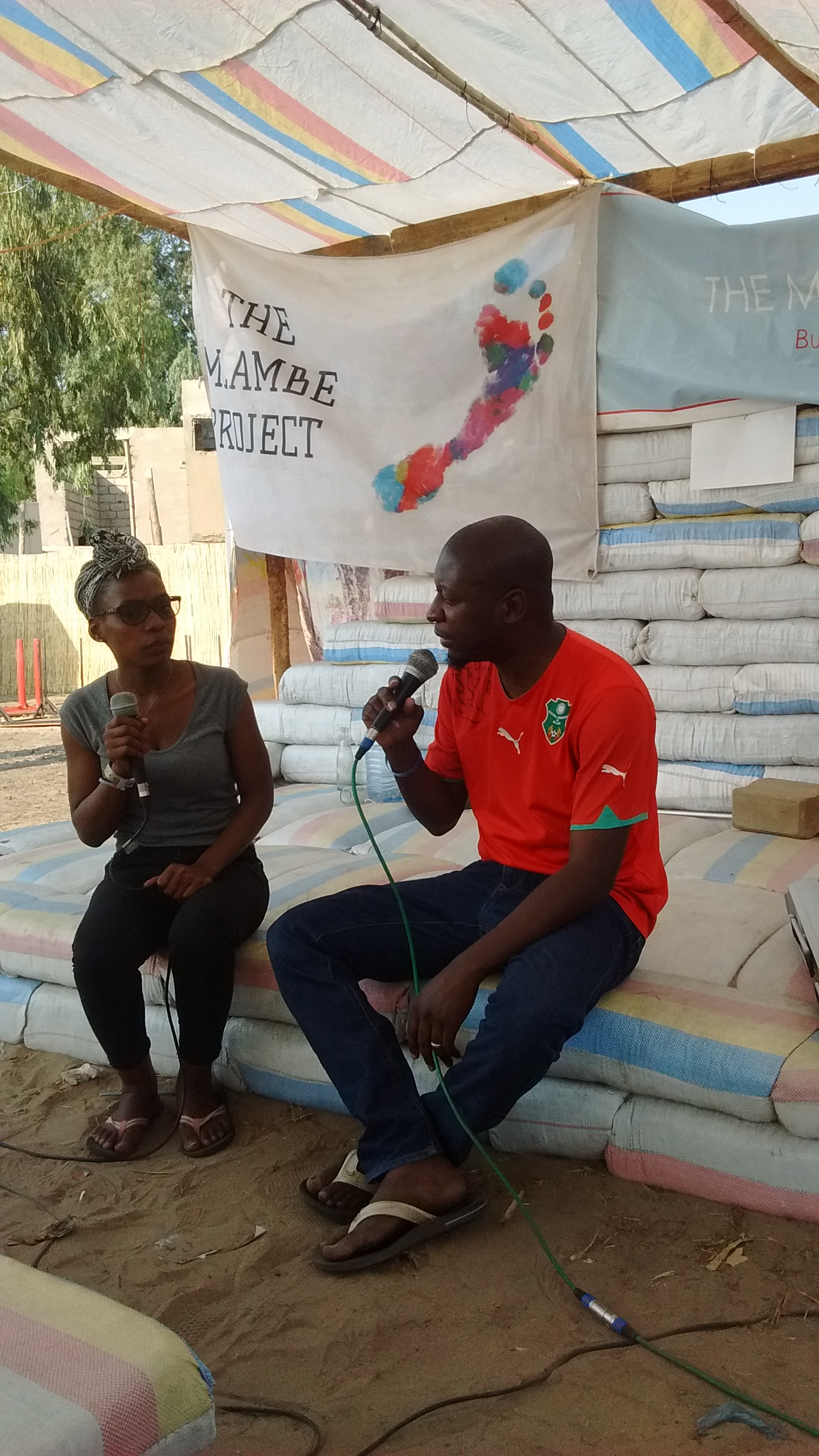 Malawian poet Q Malewezi shared his personal journey in the arts and his vision for Kweza Arts Centre, a collaborative arts centre he's developing in Lilongwe.