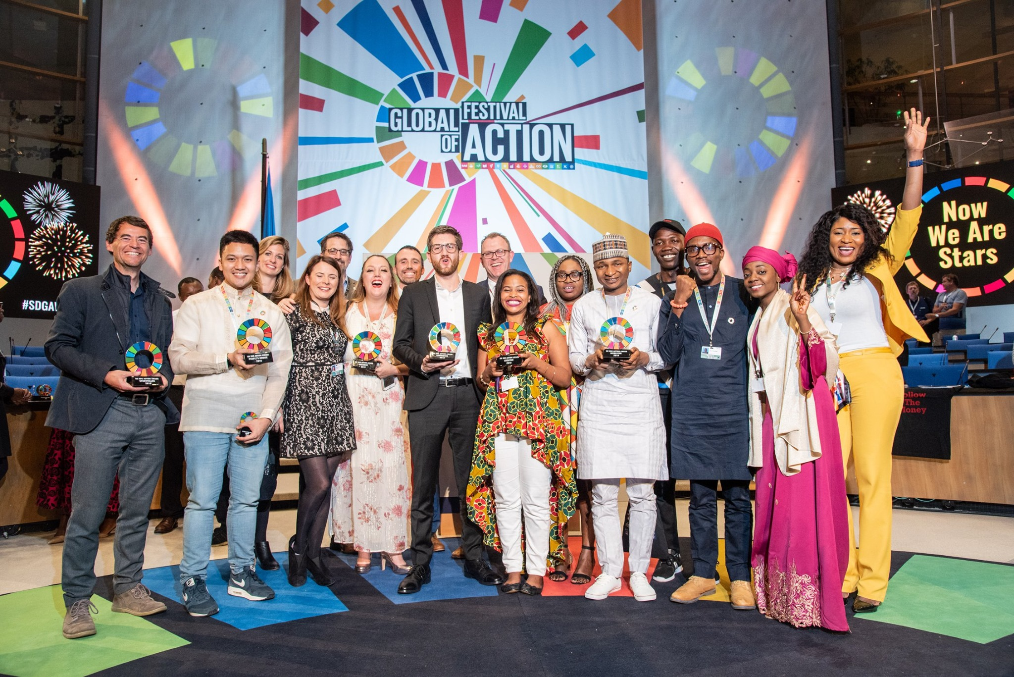 All of the SDG Action Award Winners (Photo: Filippo Fortis )