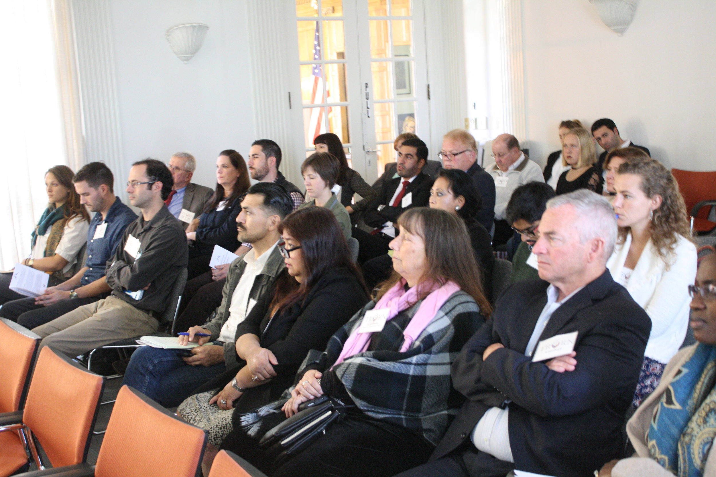 An engaged group of experts joined us to form the TRR Network.