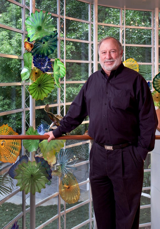 Steve Goldman, Art Patron