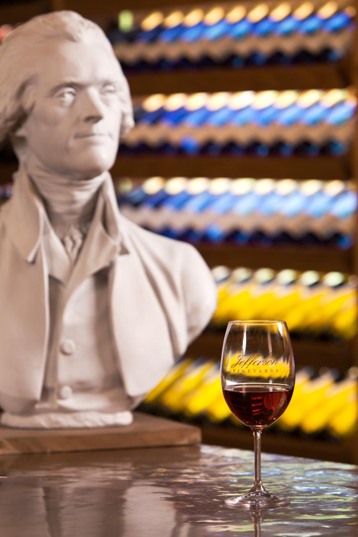 Jefferson Vineyards, Charlottesville, Virginia