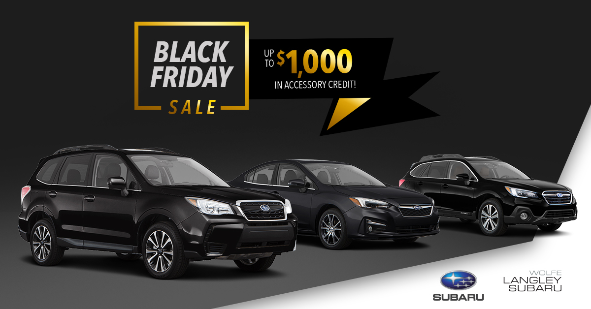 This also went for sales that were wide spread over several dealerships. Black Friday was an example of that.