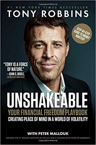 Non-fiction writing lessons from  Unshakable  by Tony Robbins.