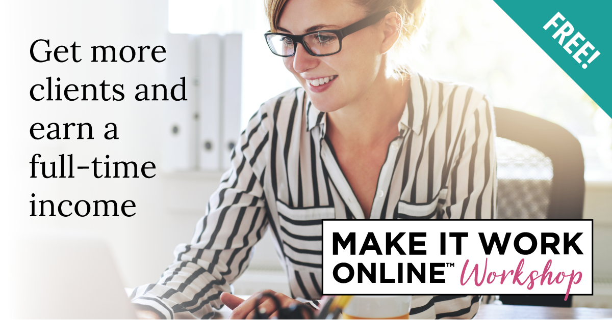 Review of Jenny Shih's Make It Work Online business coaching program.