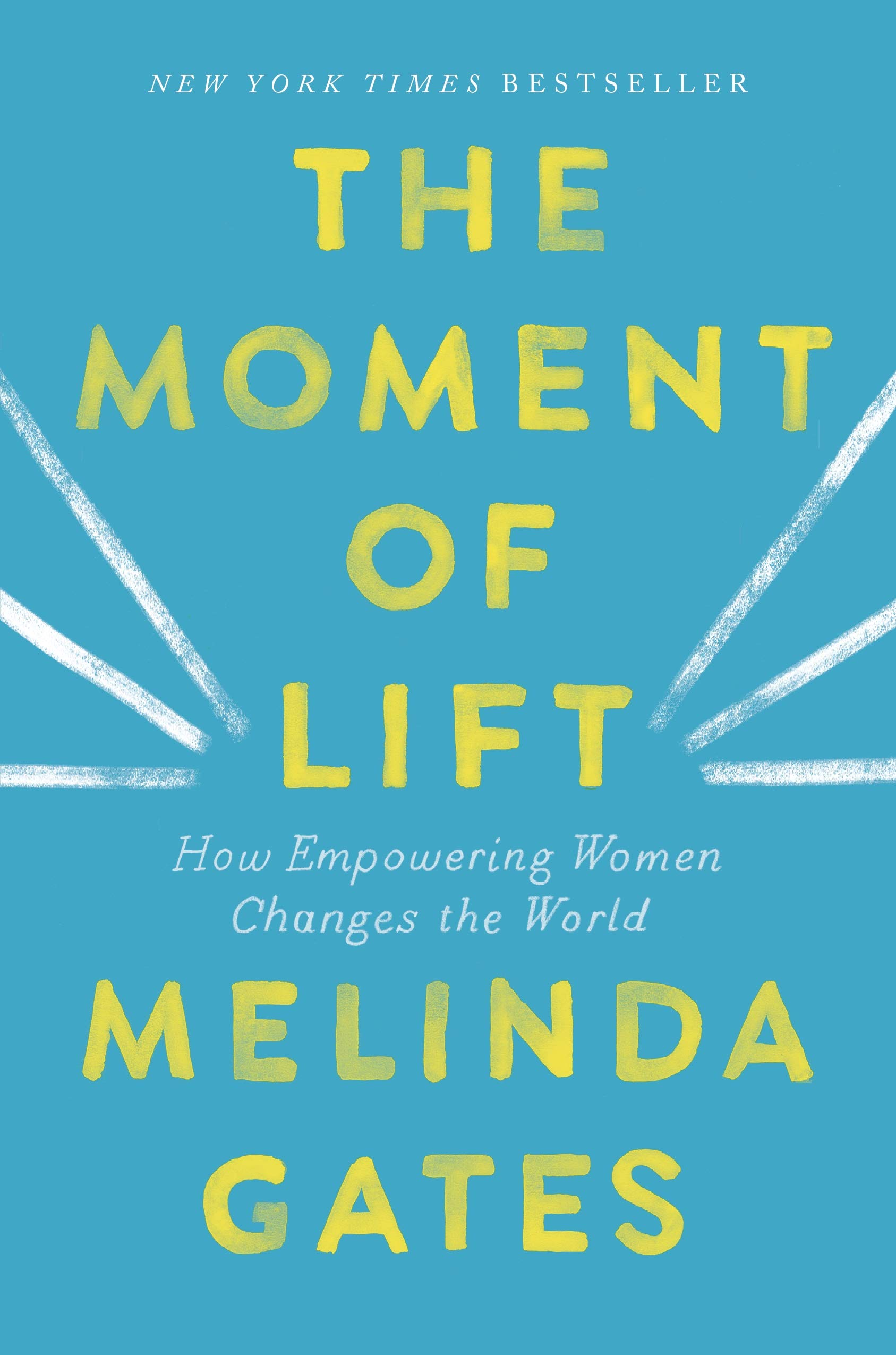 A review of  The Moment of Lift  by Melinda Gates, from Green Goose Ghostwriting.