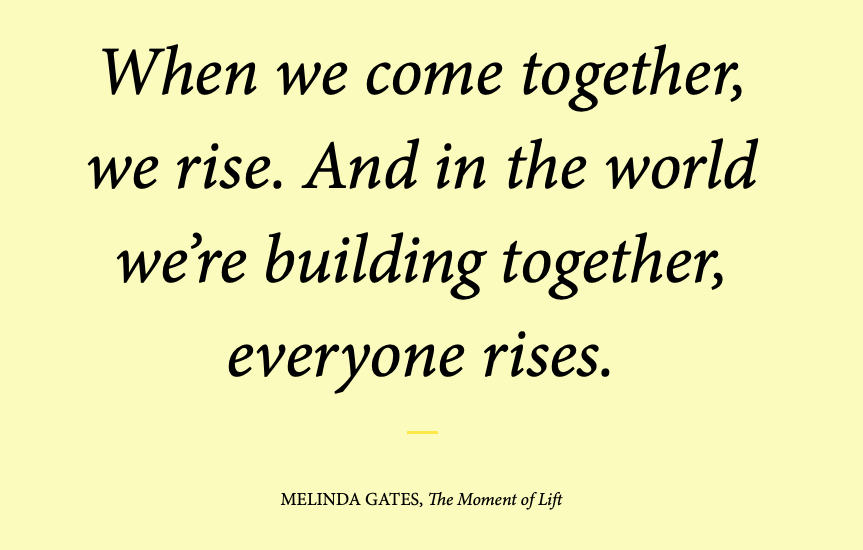 Message from The Bill and Melinda Gates Foundation.