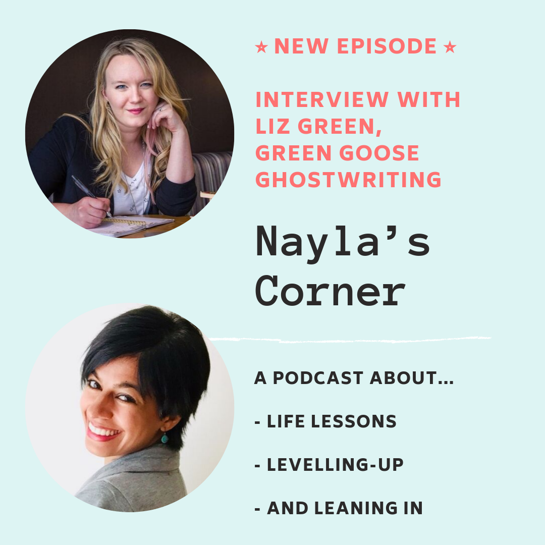 Nayla's Corner interview with Liz Green.