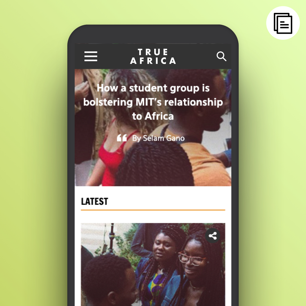 Launching an editorial platform into Africa