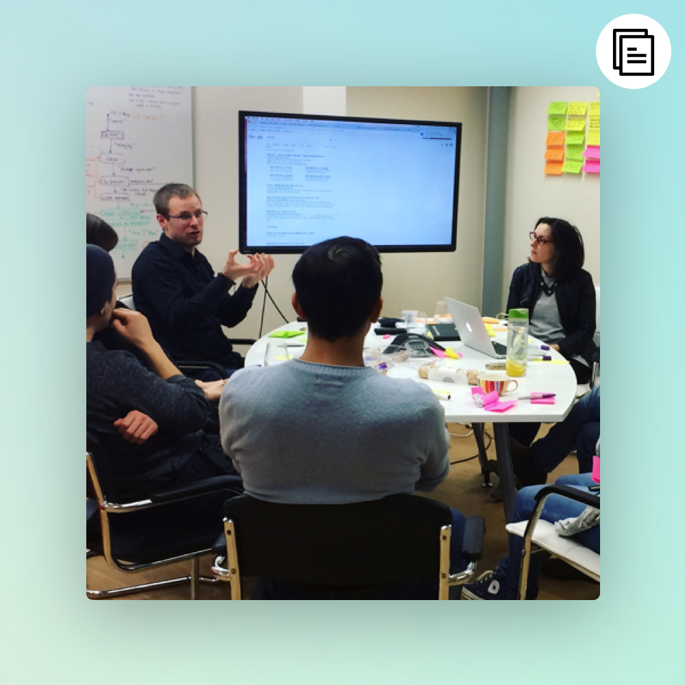 An engagement focused UX workshop