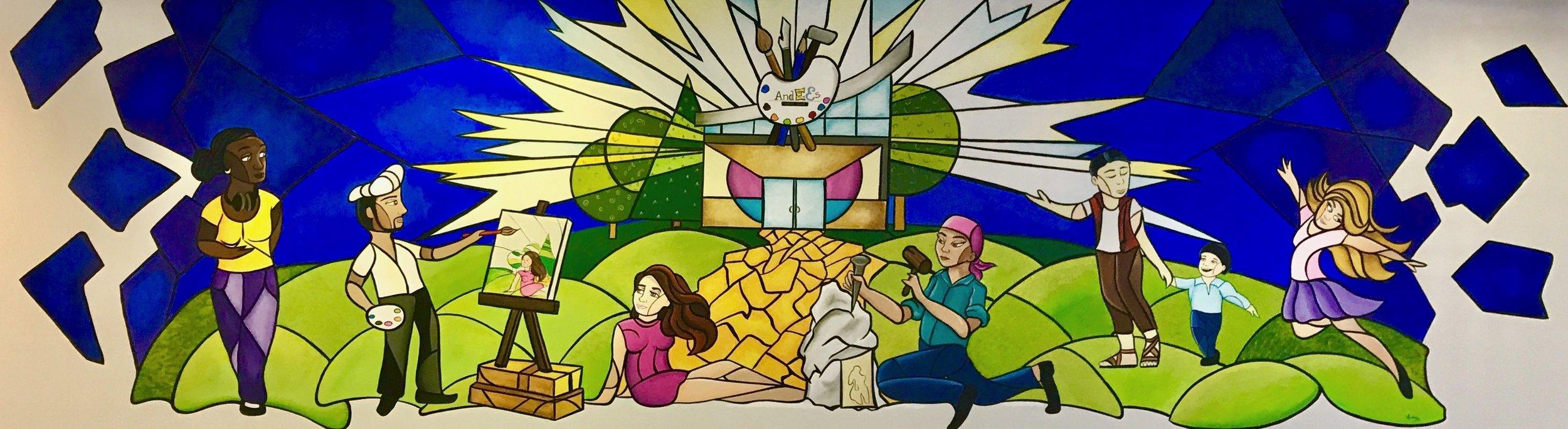 Mural by Alfredo Majuri Vargas